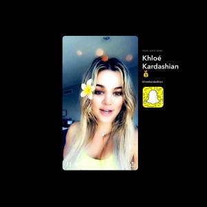 Khloe Kardashian Snapchat