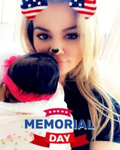 Khloe Kardashian and True Snapchat