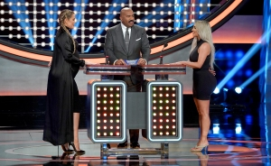 """The Kardashian Family vs. The West Family"" on Celebrity Family Feud"