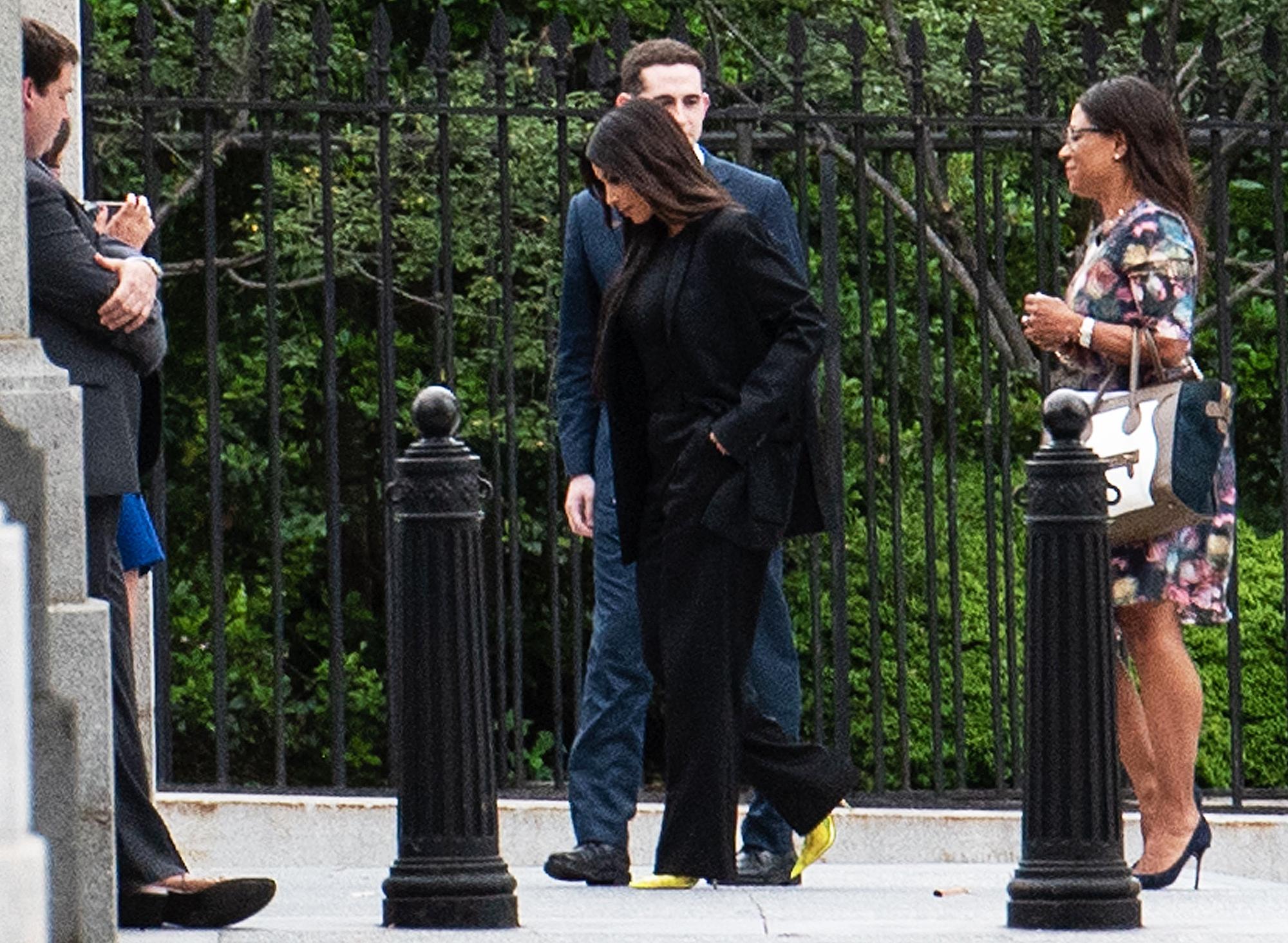 Kim Kardashian White House Donald Trump