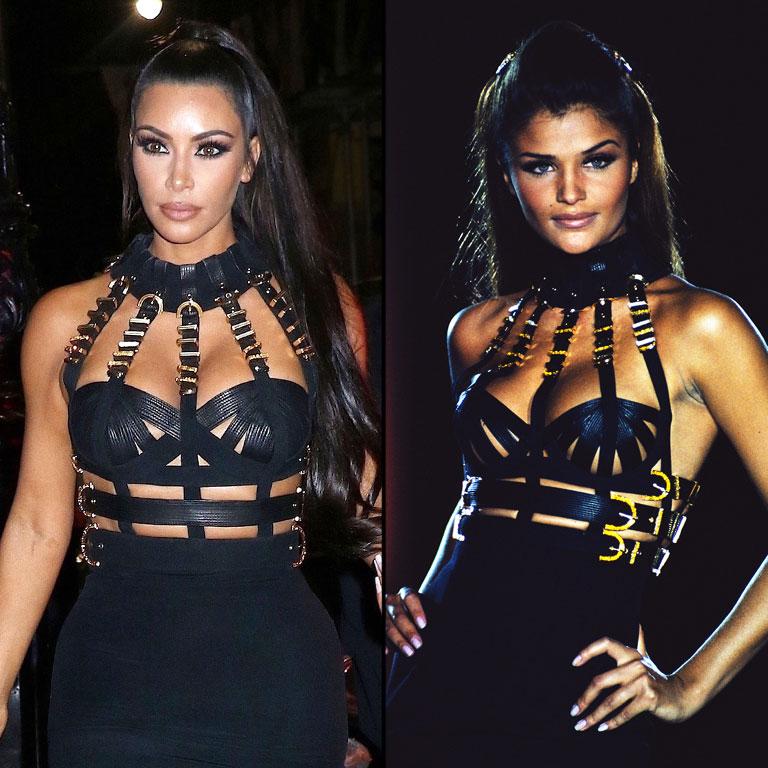 Kim Kardashian Helena Christiansen