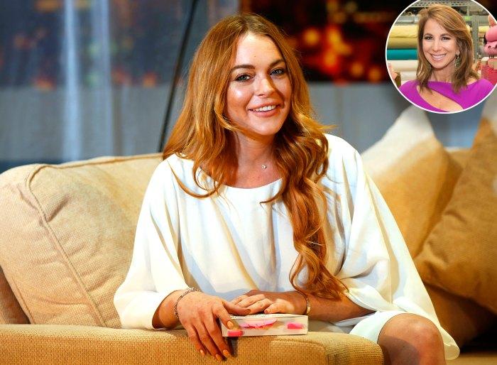 Lindsay Lohan Jill Zarin