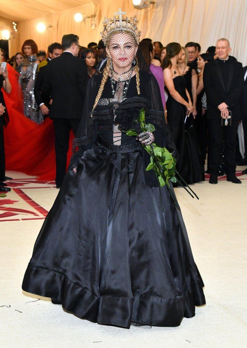 Madonna met 18