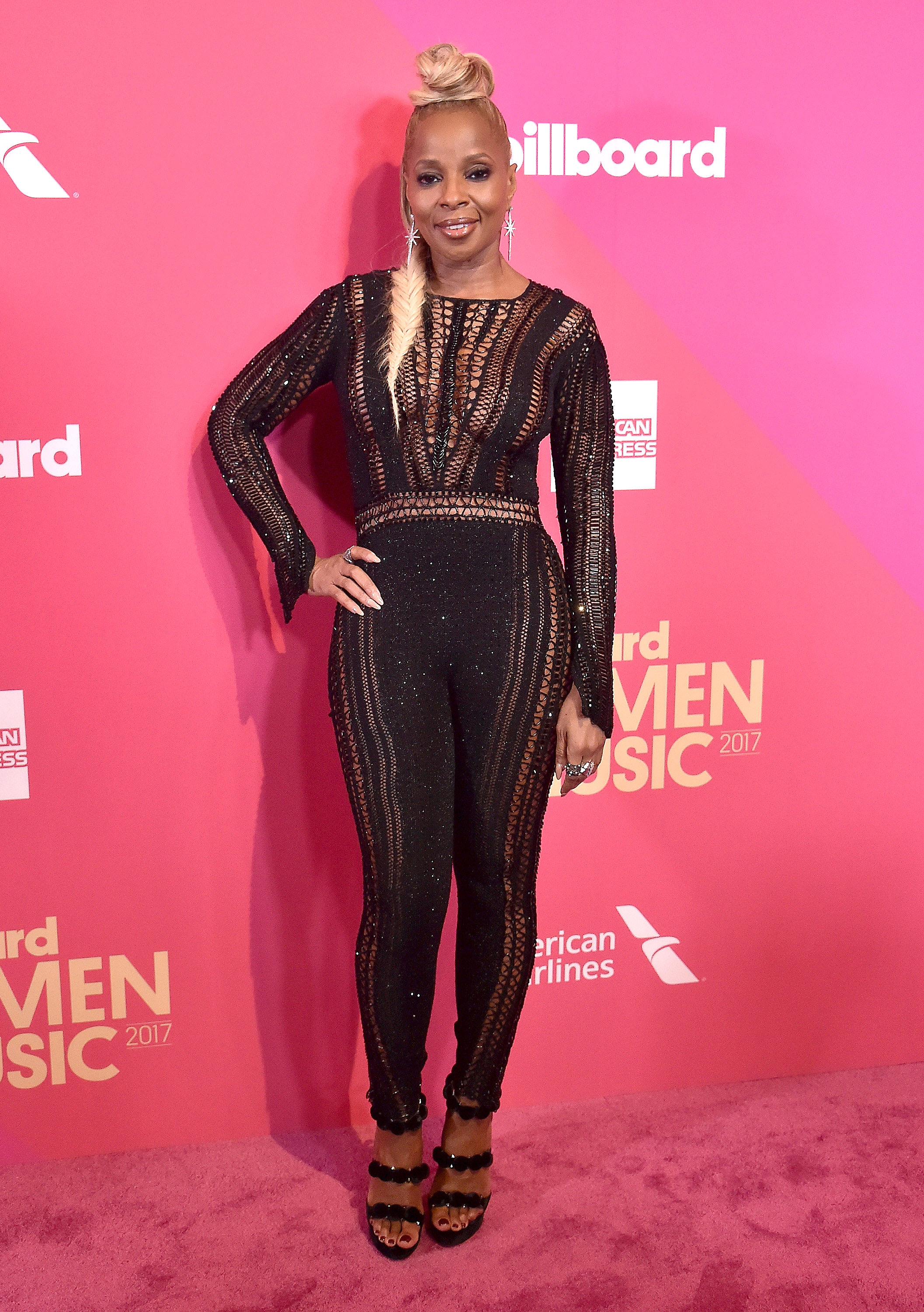 Olivia Culpo, Mary J. Blige and More Stars Wearing Black Jumpsuits