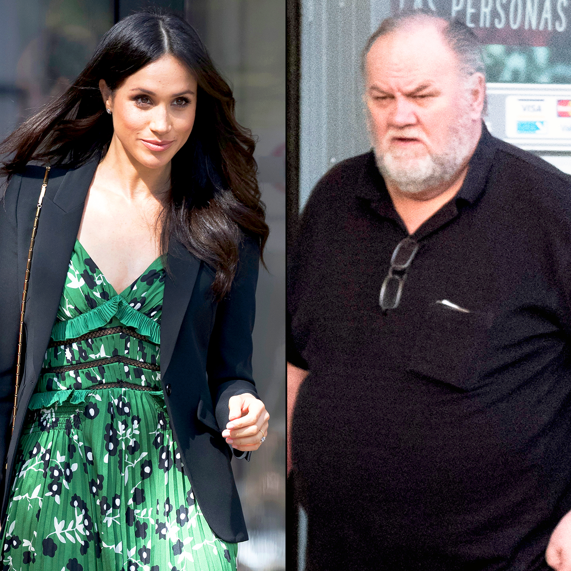 Meghan Markle and Thomas Markle