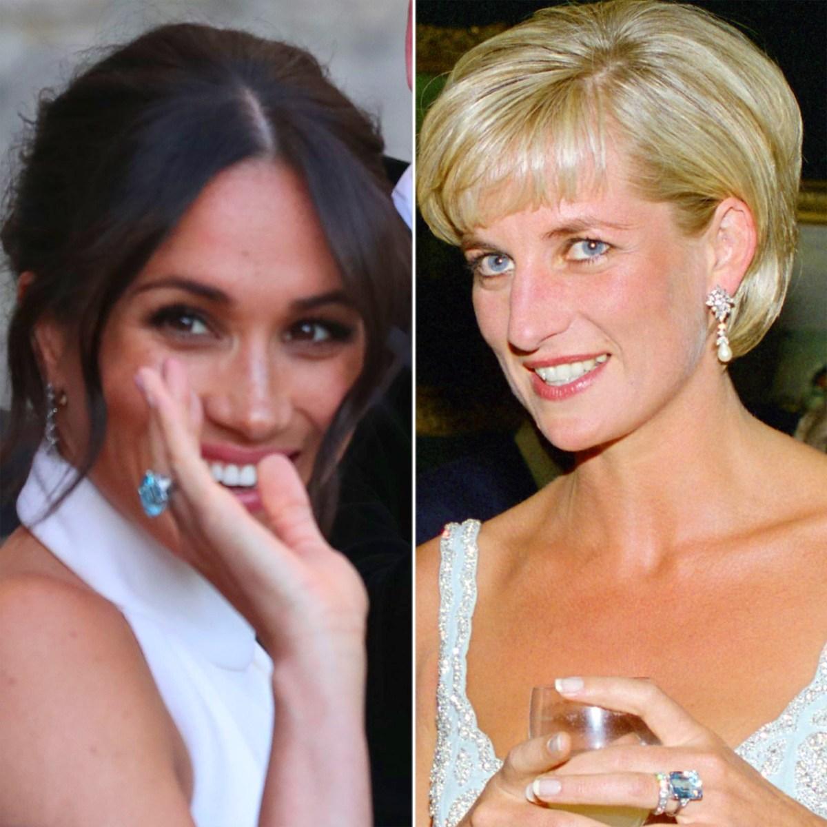 Princess Diana S Jewelry Worn By Kate Middleton Meghan Markle Pics