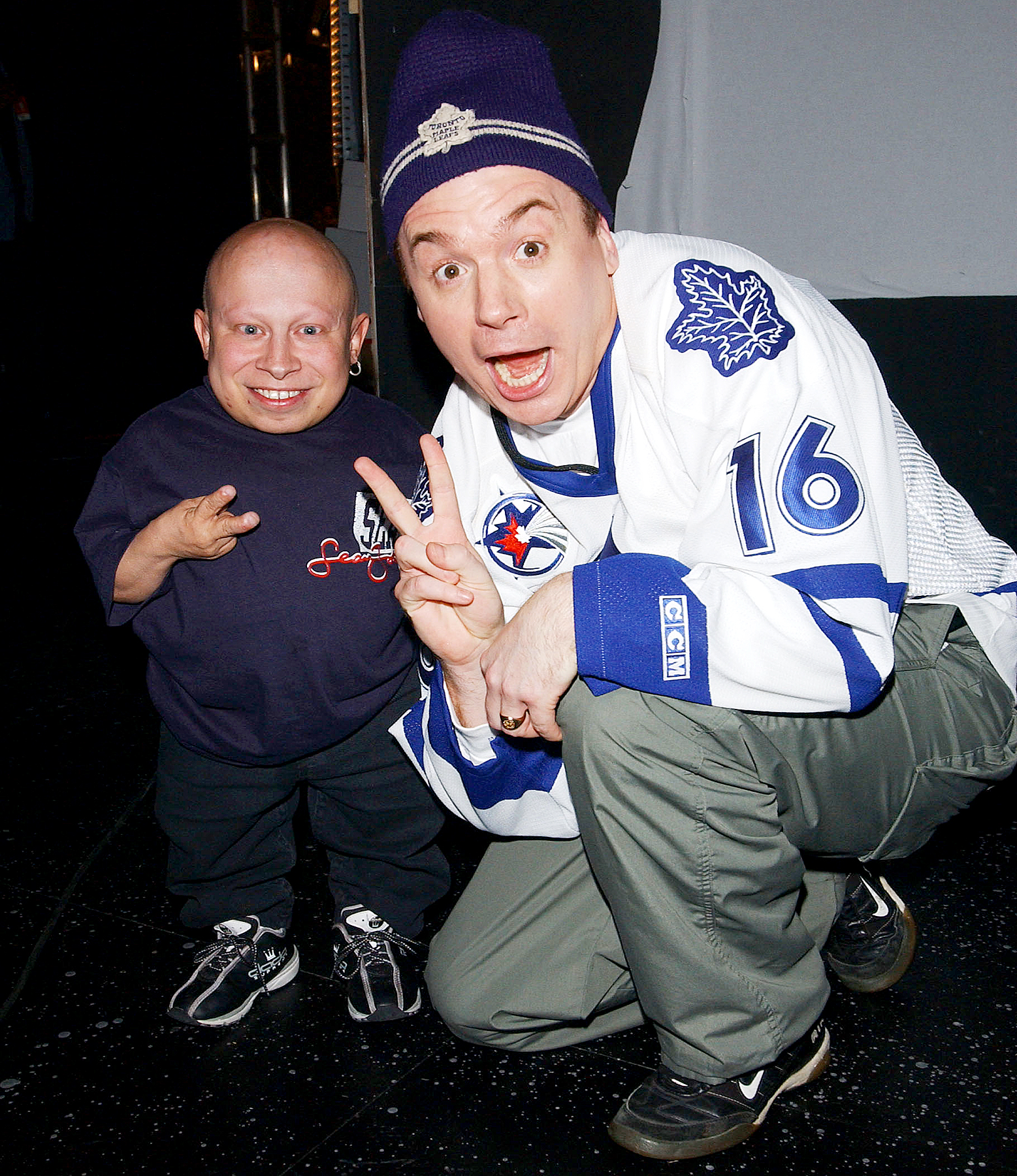 Mike Myers Holds Back Tears While Remembering 'Austin Powers' Co-Star Verne Troyer