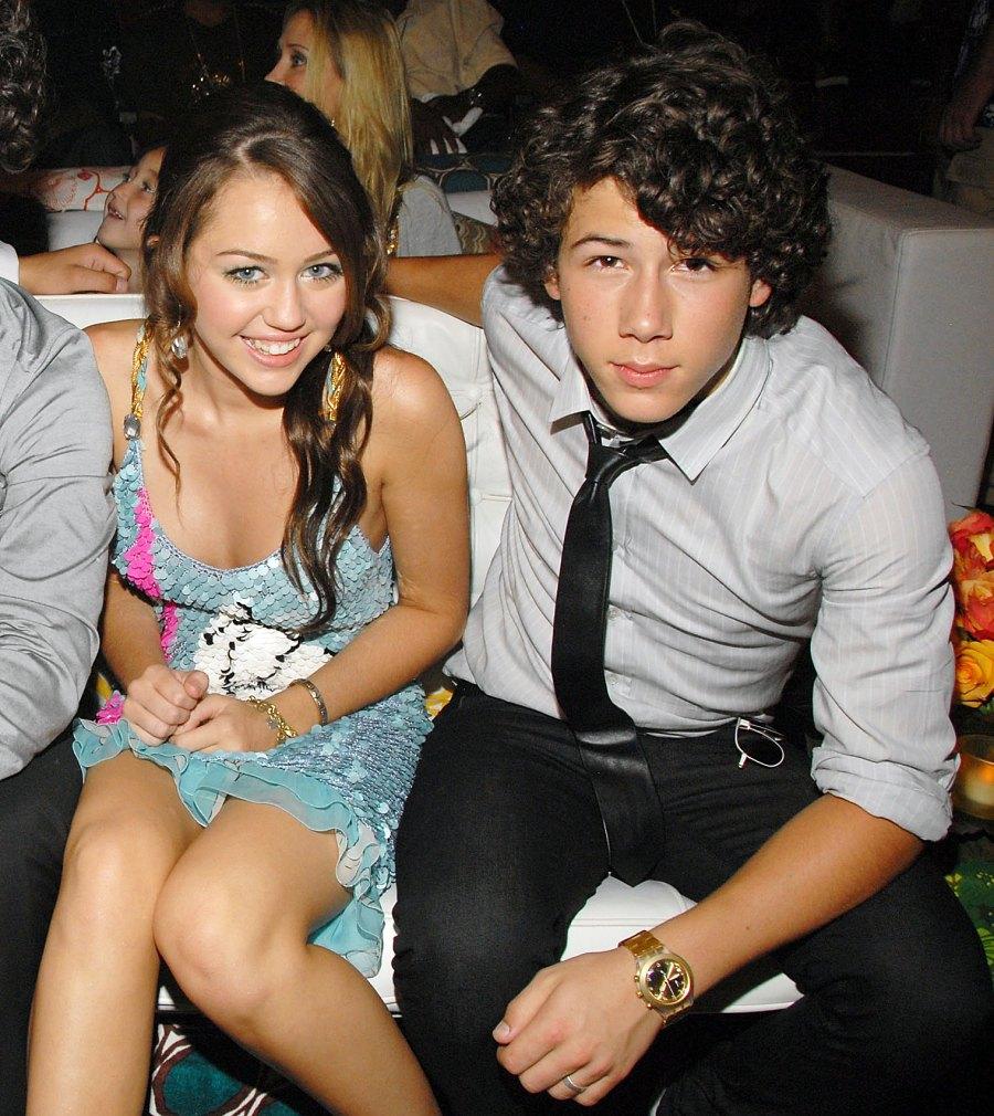 Nick Jonas Dating History Timeline Miley Cyrus