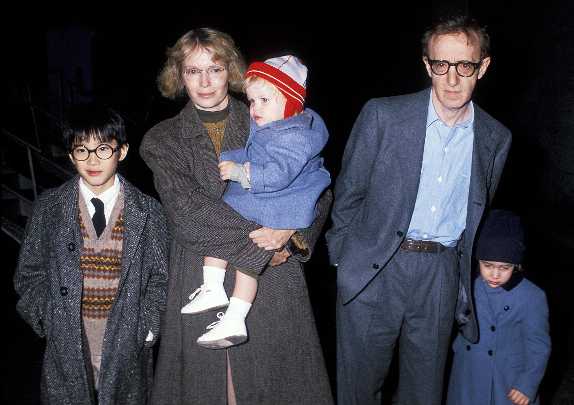 Moses Farrow Mia Farrow Woody Allen