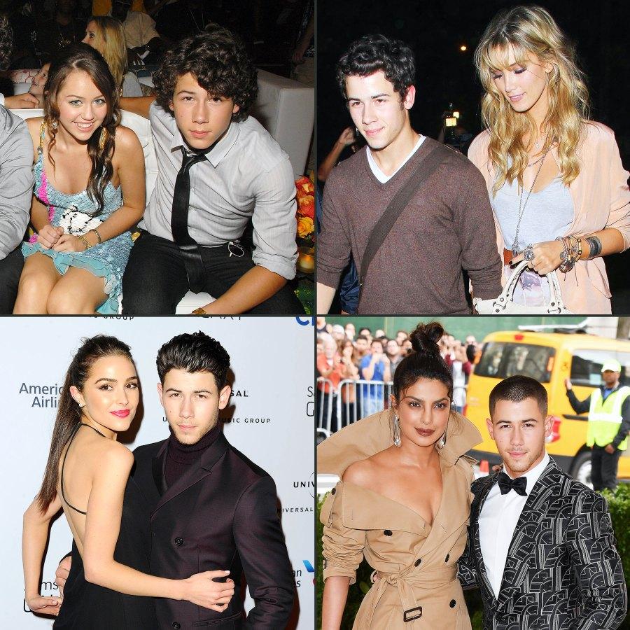 Nick Jonas Dating History Timeline