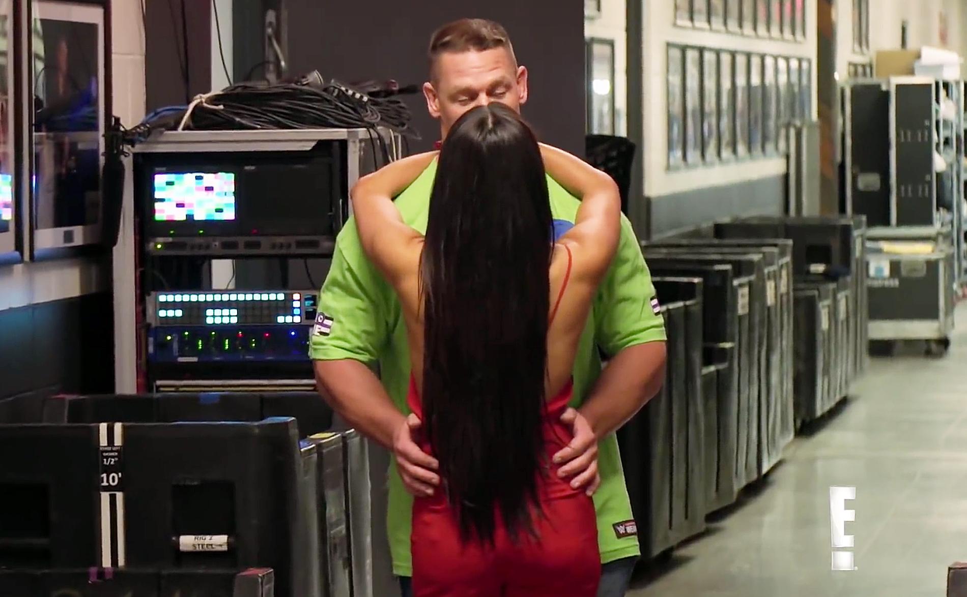 John Cena Nikki Bell Reunite