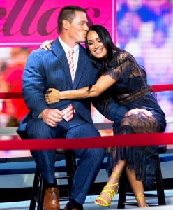 John Cena and Nikki Bella on 'Today' show