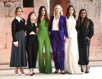 Sarah Paulson, Awkwafina, Sandra Bullock, Cate Blanchett, Anne Hathaway and Mindy Kalling