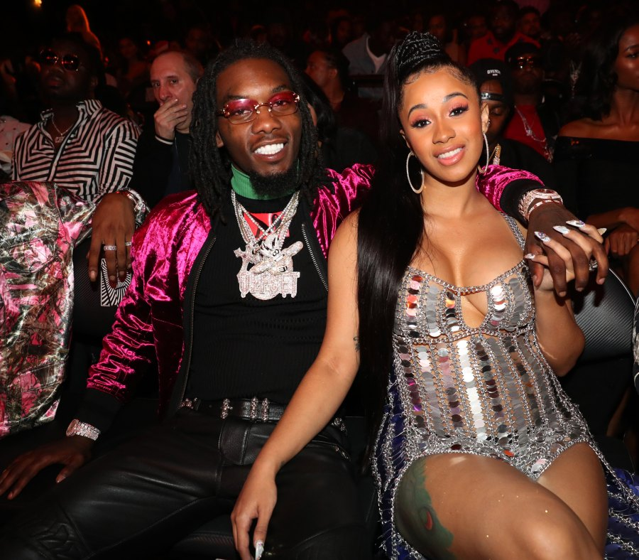 offset and cardi b timeline