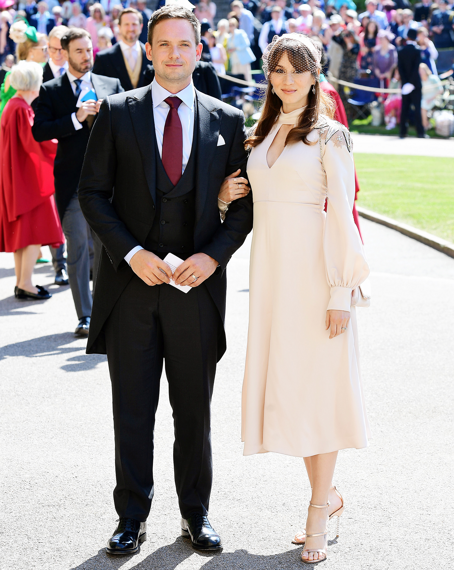 Tom Hardy Royal Wedding.Royal Wedding 2018 What Prince Harry Meghan Markle Guests Wore