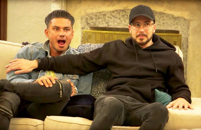 Pauly D and Vinny Guadagnino on 'Jersey Shore'