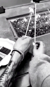 Pete Davidson and Ariana Grande Instagram