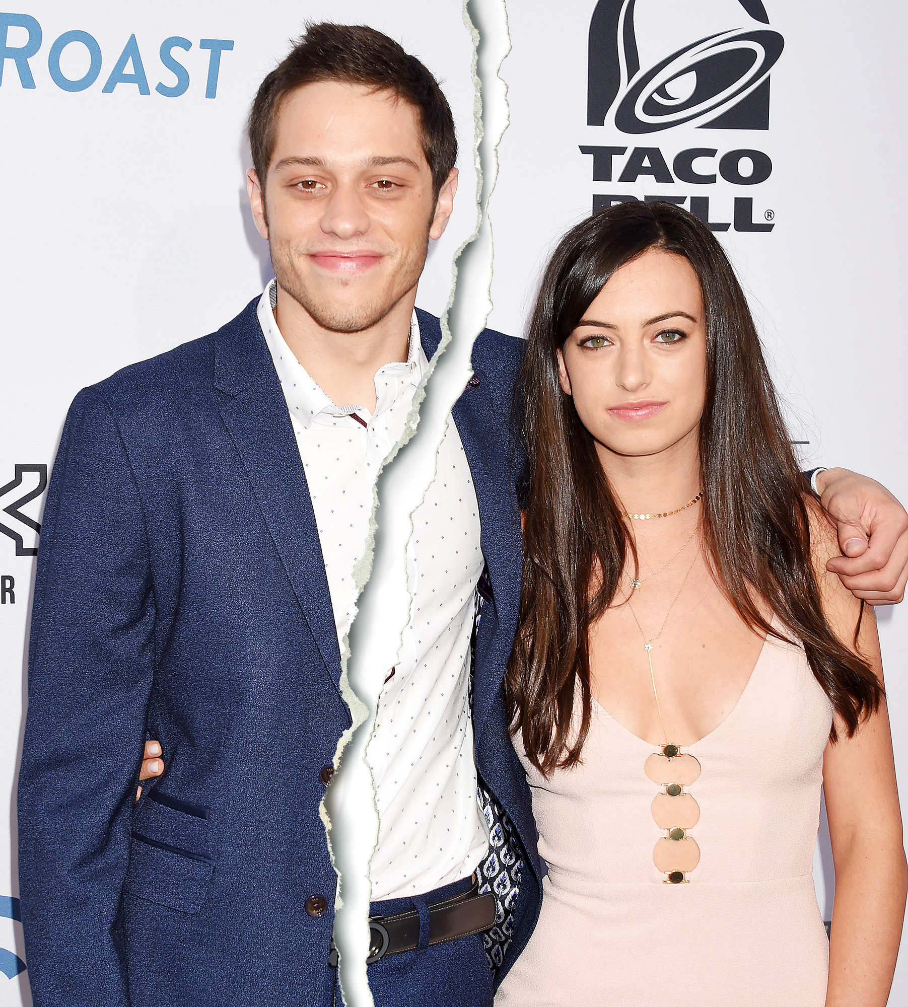 Pete Davidson Cazzie David split