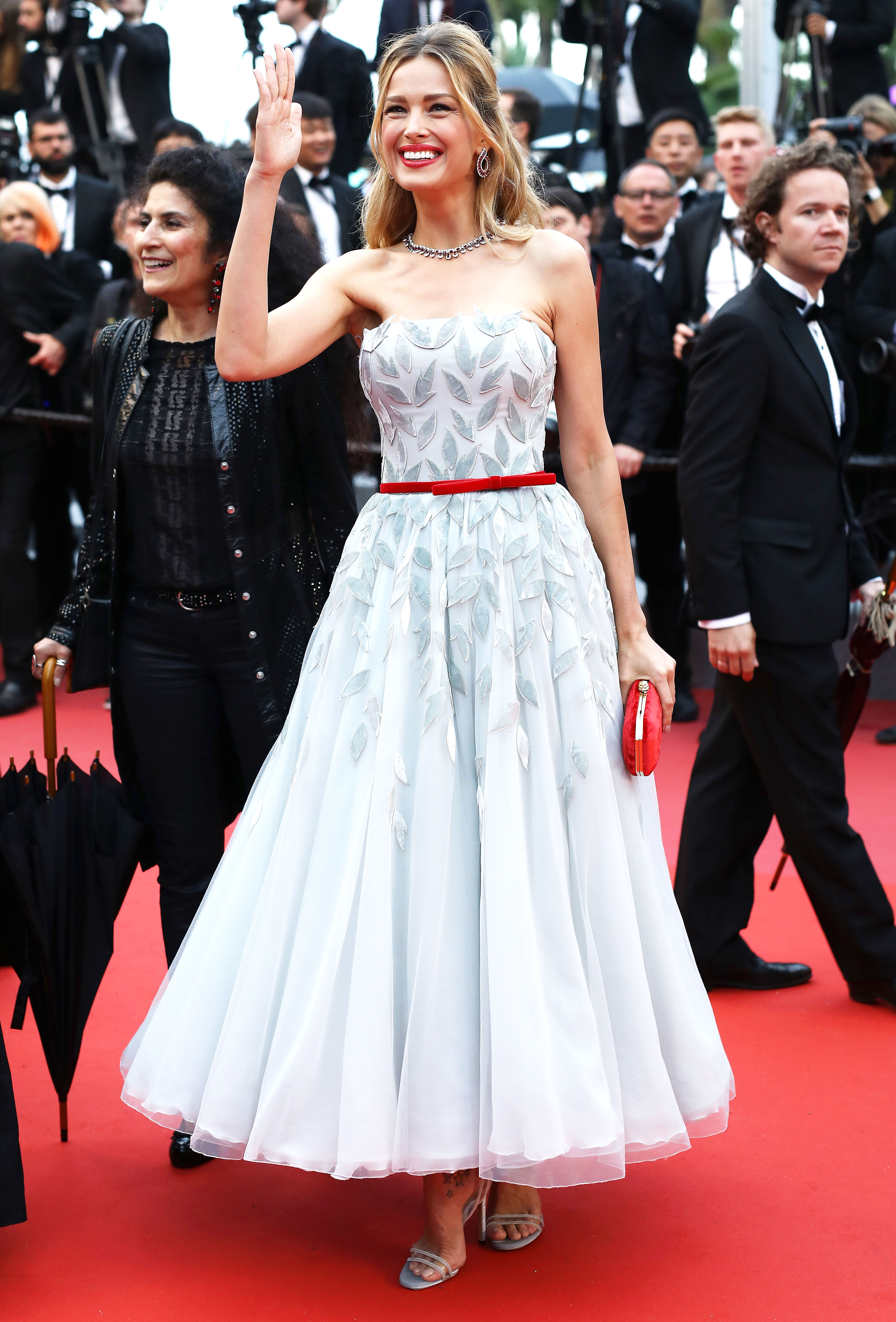 "Petra Nemcova - CANNES, FRANCE – MAY 16: Model Petra Nemcova attends the screening of ""Burning"" during the 71st annual Cannes Film Festival at Palais des Festivals on May 16, 2018 in Cannes, France. (Photo by John Phillips/Getty Images)"