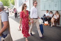 Pippa Middleton, James Matthews, Baby Bump, Pregnant, Roland Garros