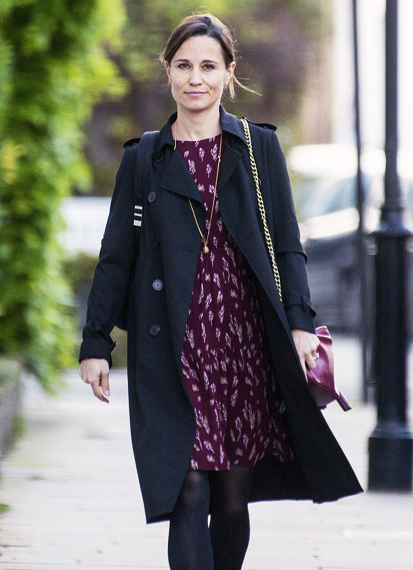 Pregnant Pippa Middleton Flaunts Tiny Baby Bump in Floral ... - photo#20