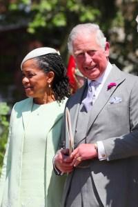 Doria Ragland and Prince Charles