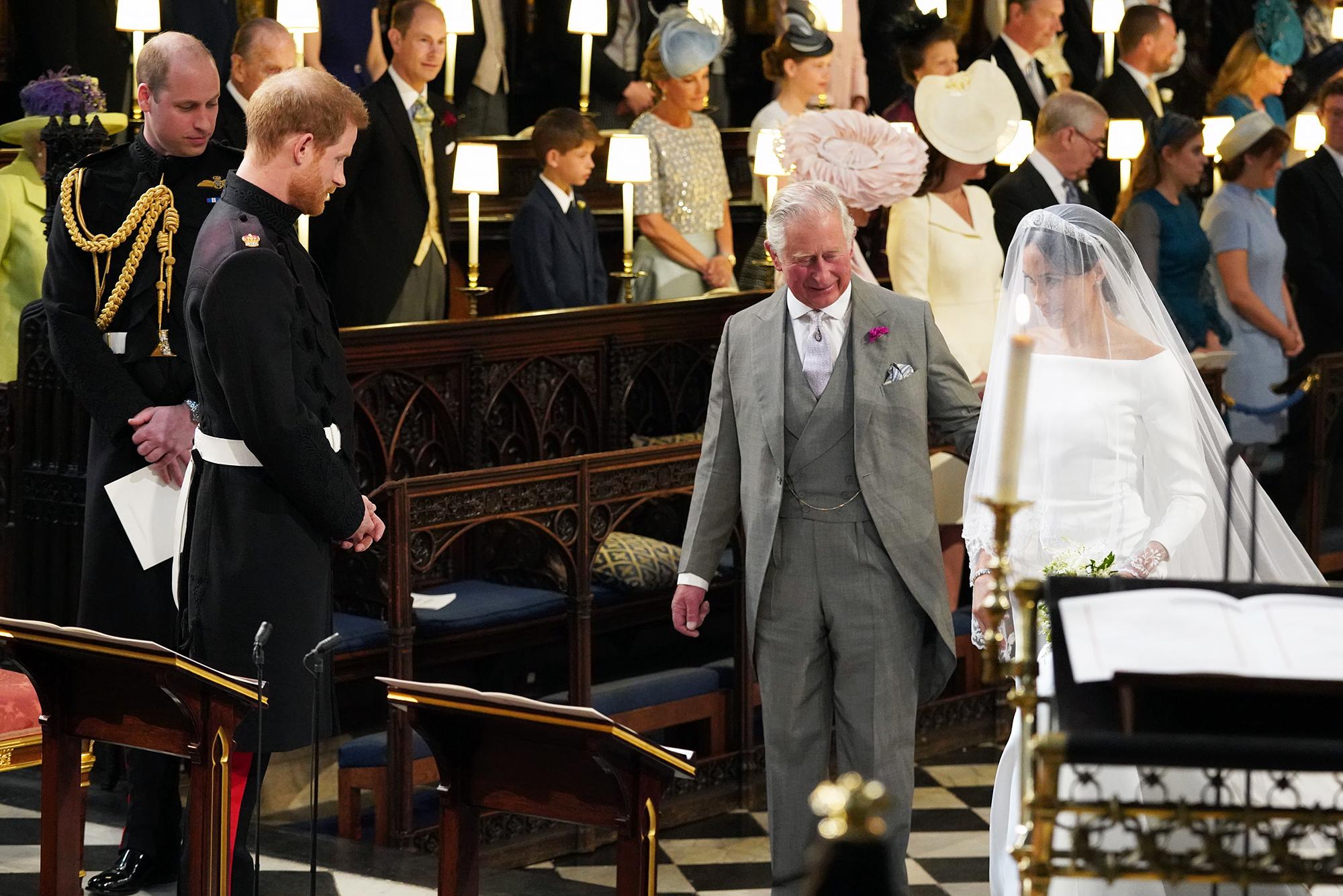 Prince Harry Meghan Markle Royal Wedding First Look