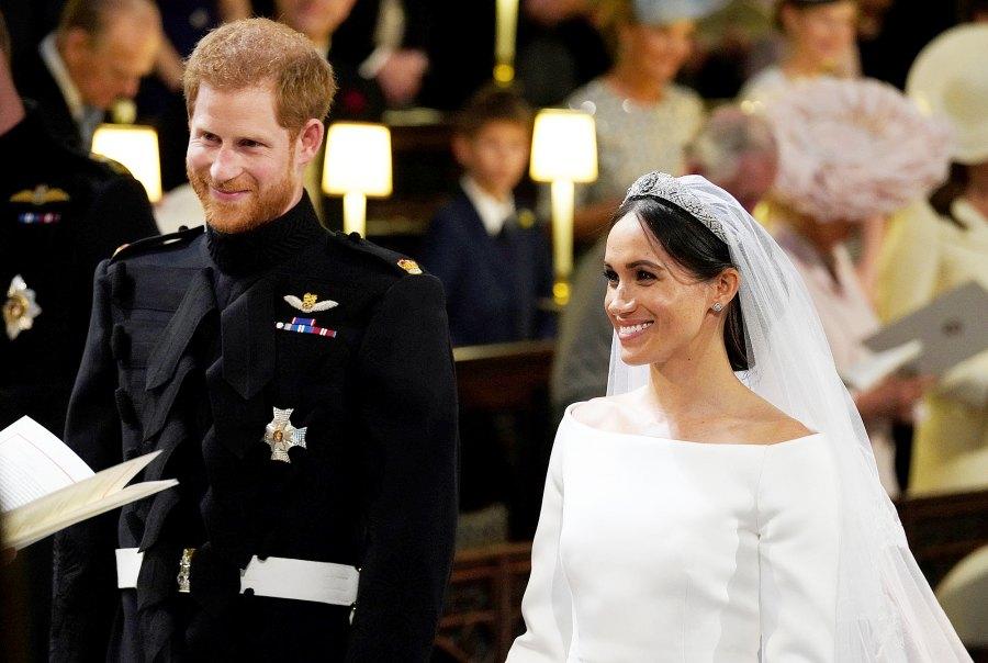 prince harry meghan markle royal wedding hottest moments
