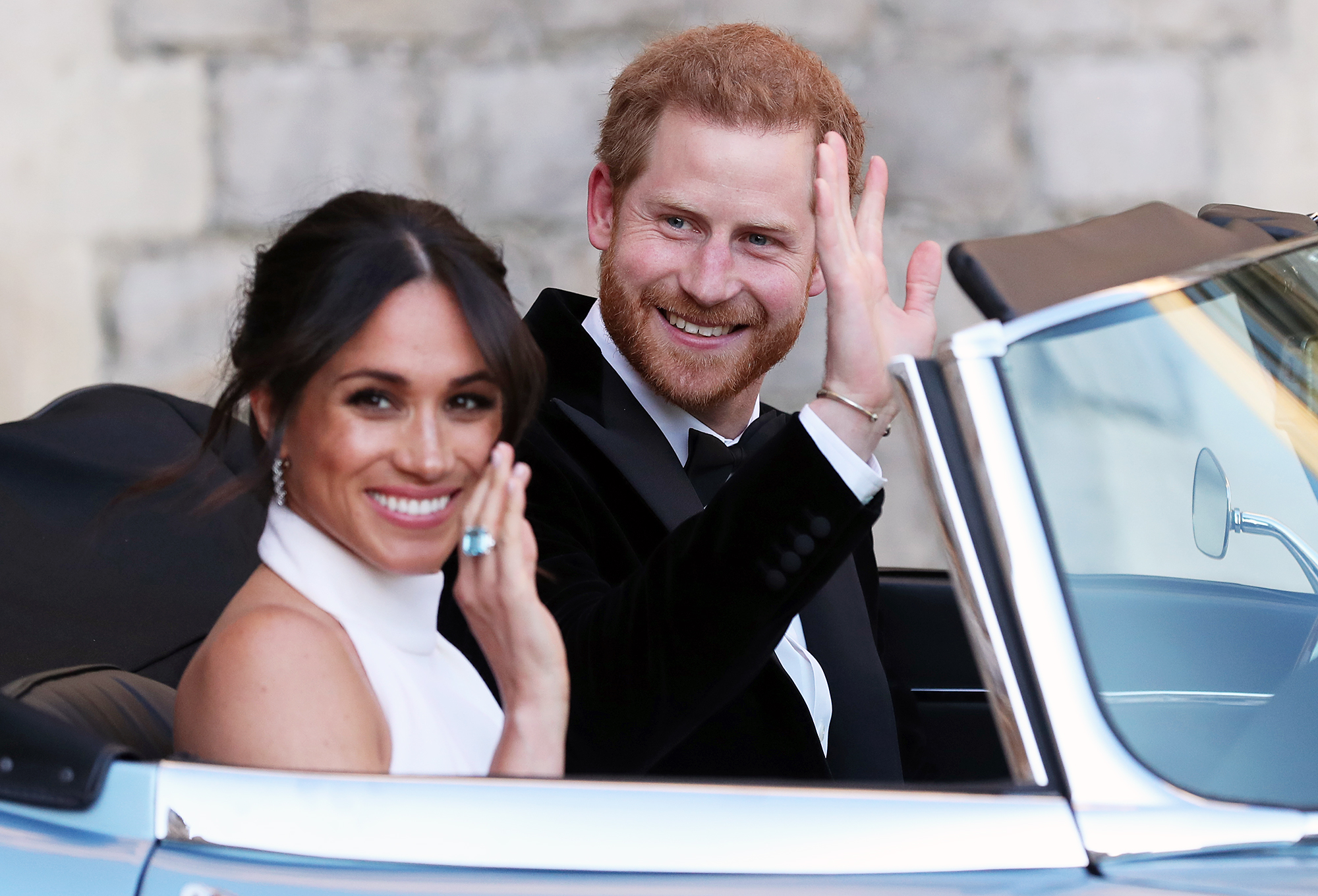 Prince Harry Meghan Markle Royal Wedding Evening Reception