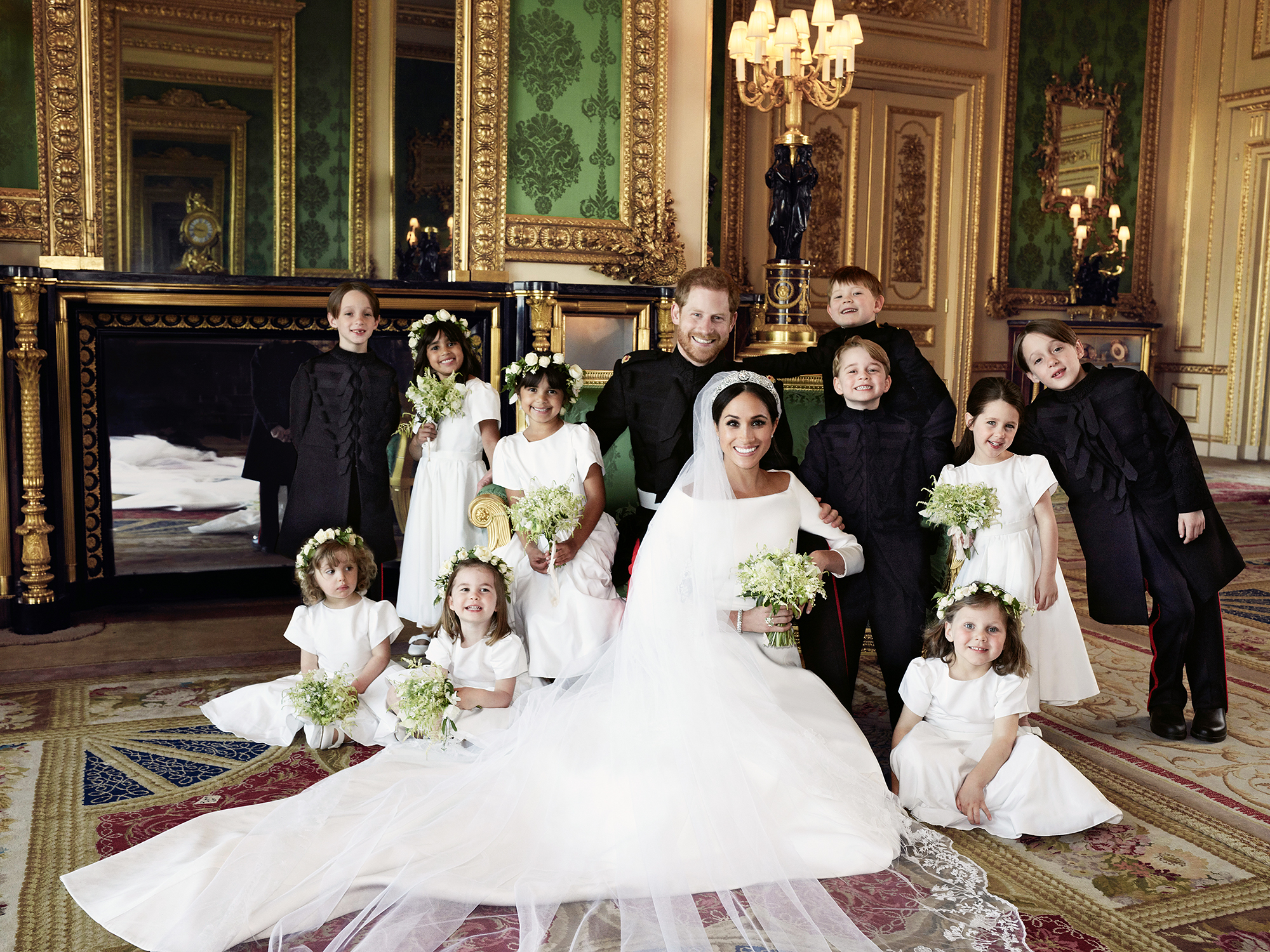 Prince Harry Wedding Royal Family Photo Prince Harry's wedding gesture was almost ruined! On the day of the royal wedding, he went on a mission to hand-pick some flowers for Meghan's bouquet...
