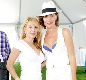 Ramona Singer and Luann De Lesseps