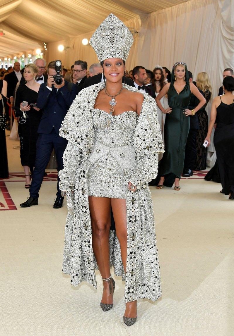 Rihanna met 18