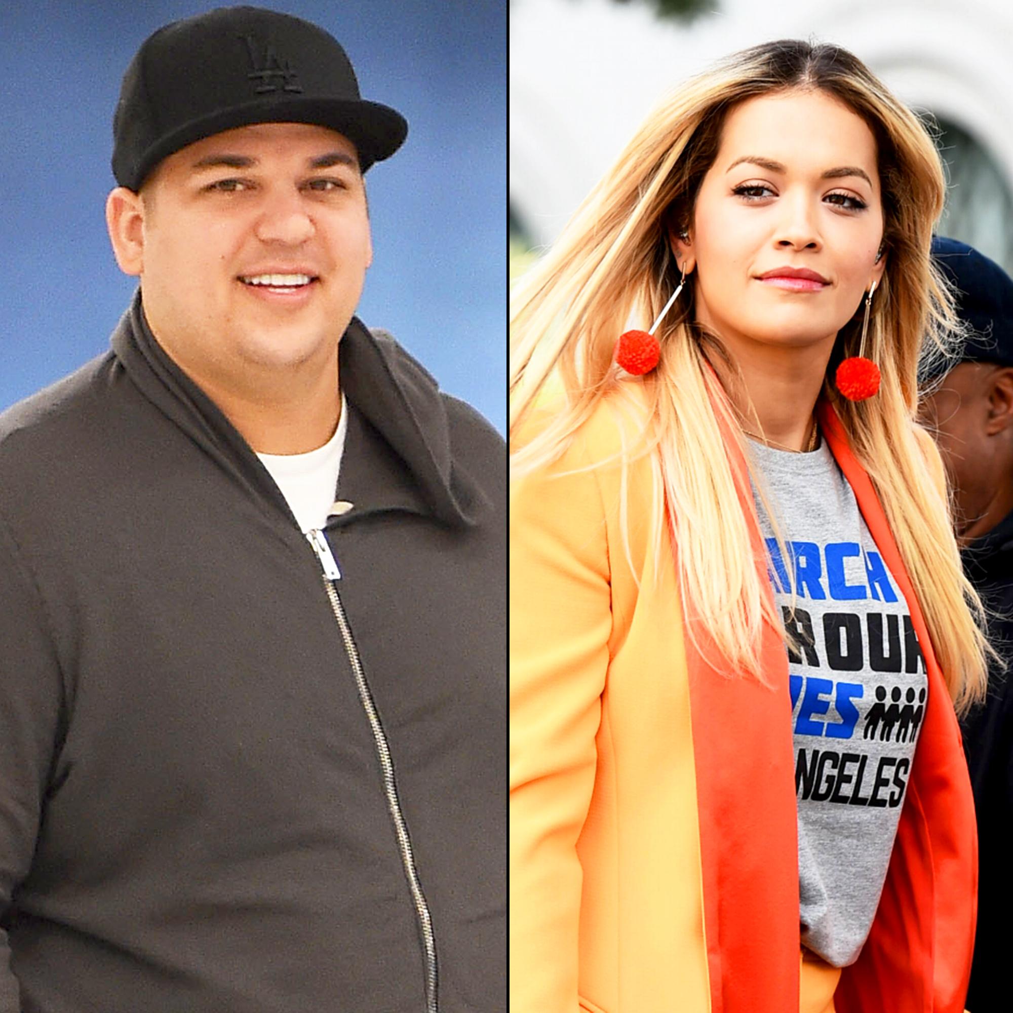 During Ex 'girls' Shows Kardashian Backlash Rita For Support Rob Ora F0IaW5F