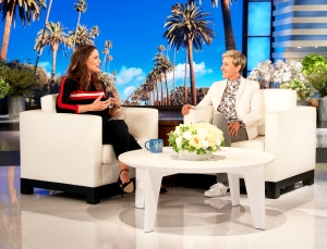 Jennifer Garner on 'The Ellen DeGeneres Show'