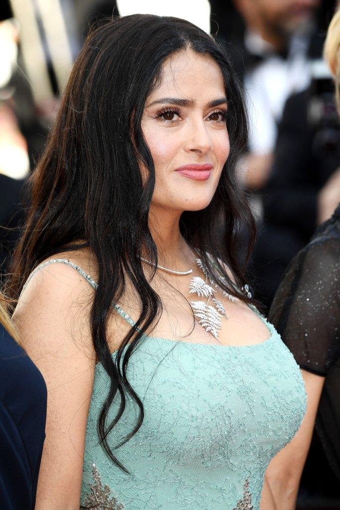 Salma Hayek's Glowing Makeup at 2018 Cannes Film Festival