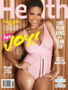 Sanaa Lathan on the cover of Health