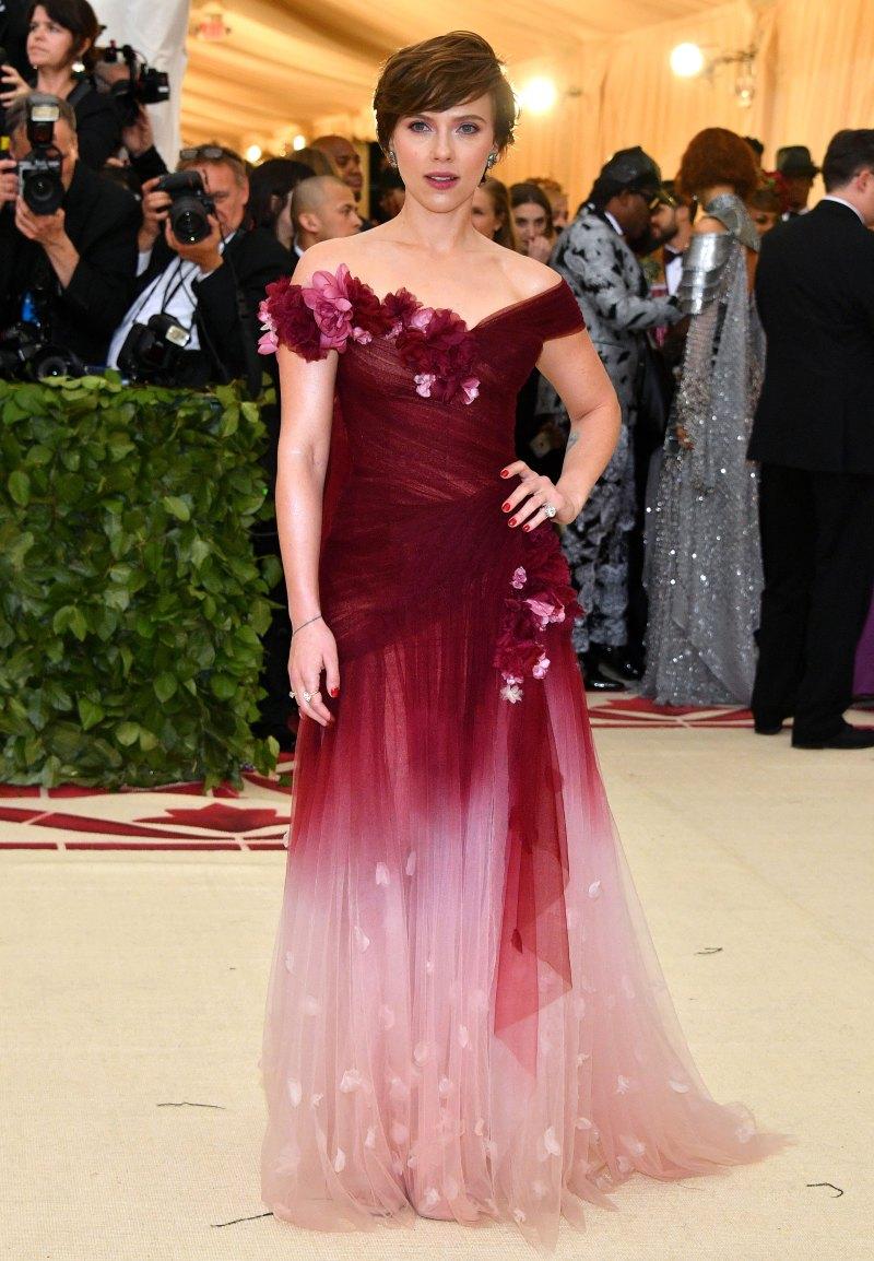 Scarlett Johansson met 18