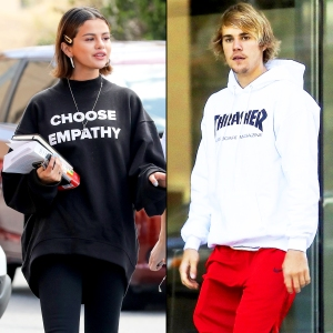 Justin Bieber Selena Gomez A History Of Their Post Split Ups And Downs