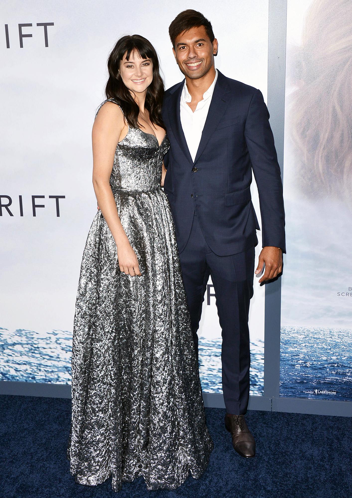 Shailene Woodley Ben Volavola Red Carpet Debut Adrift Premiere