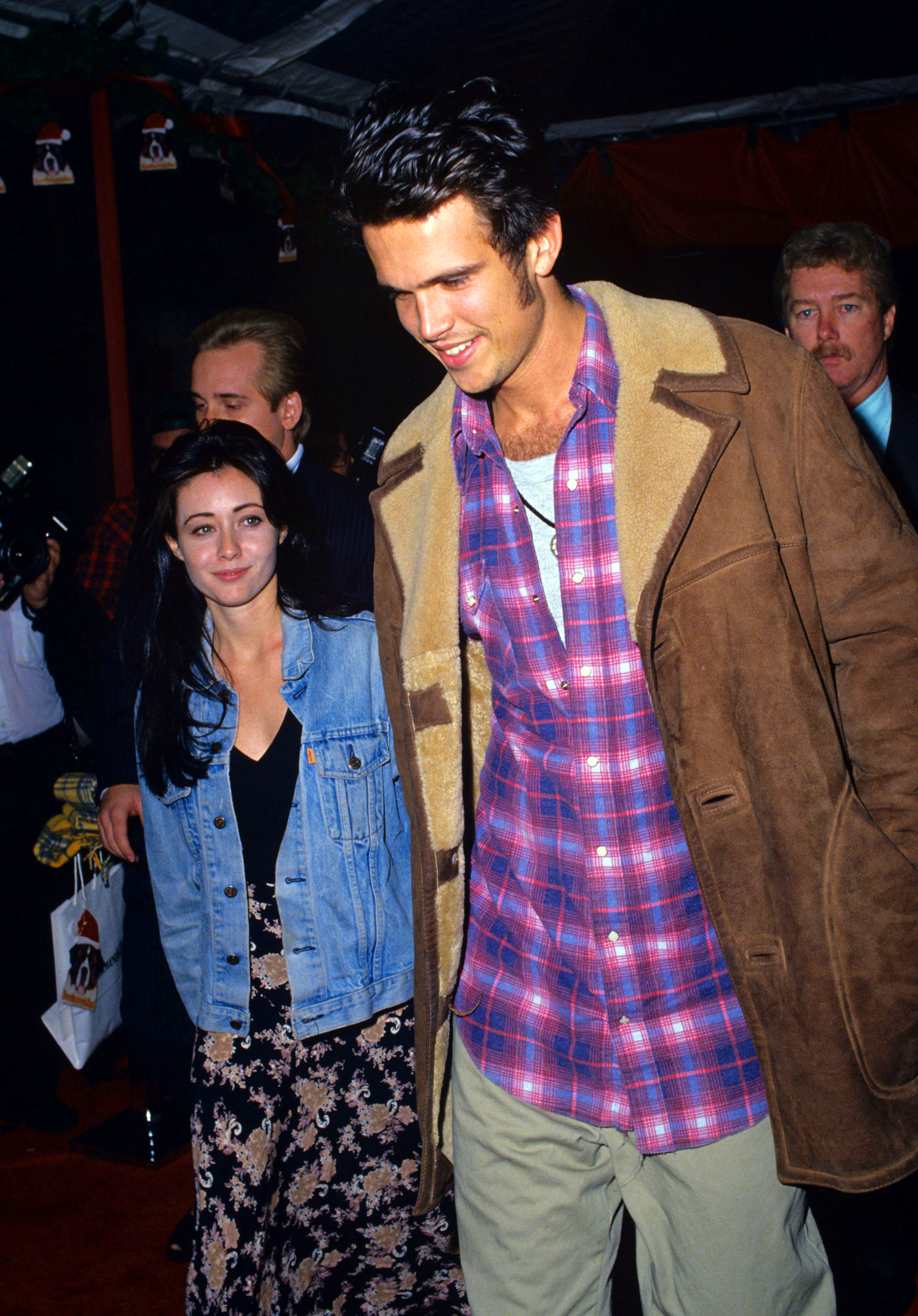 """Hollywoods shortest marriages - Doherty, then 22, wed her beau of one month in 1993. """"I care about being with my husband,"""" the 90210 alum said at the time."""