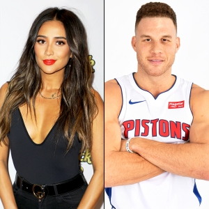 Shay Mitchell and Blake Griffin