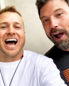 Spencer Pratt and Ben Affleck
