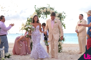 Danielle Staub and Marty Caffrey's wedding