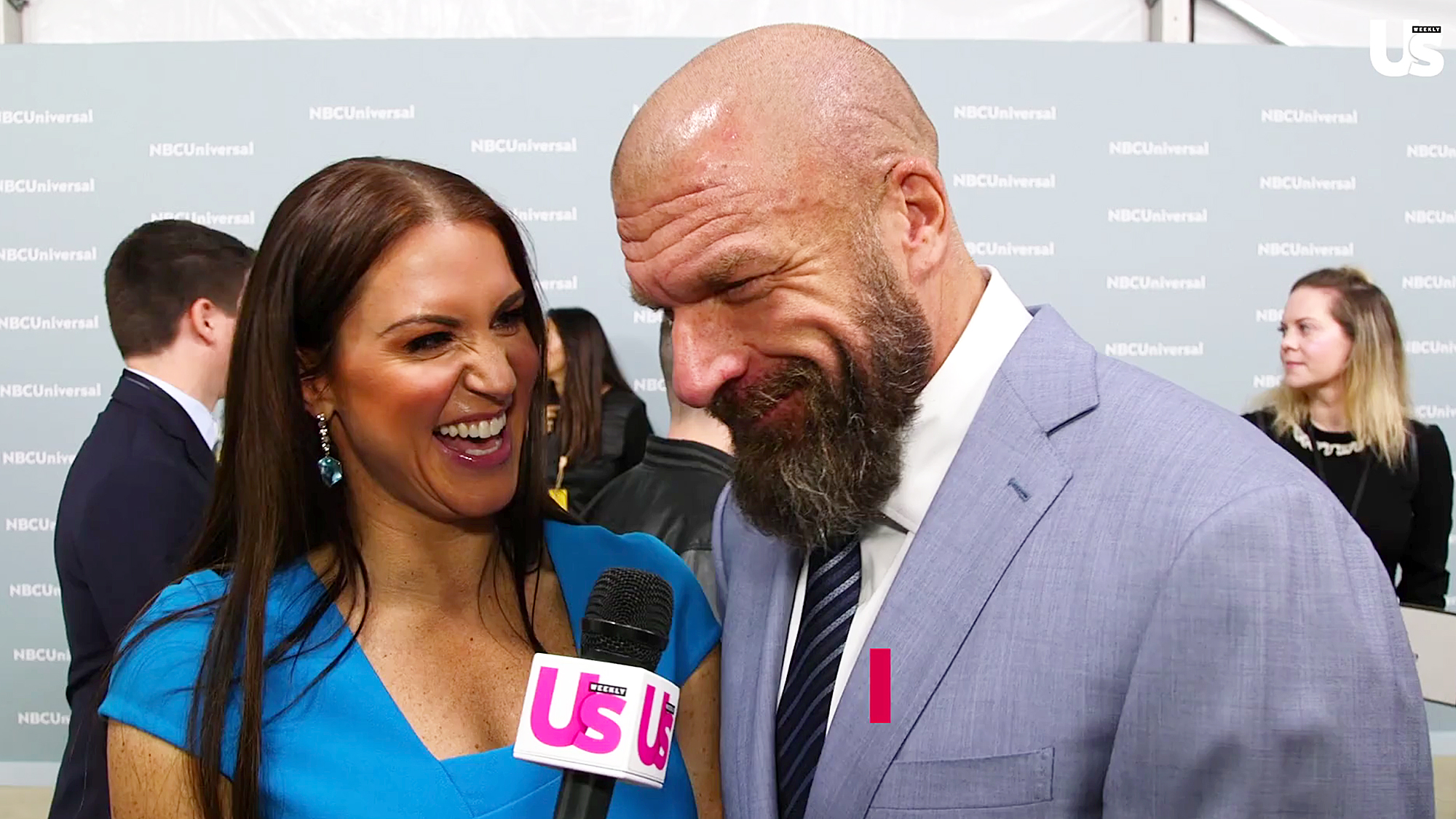 Stephanie McMahon Triple H Celebrity Advice Prince Harry Meghan Markle
