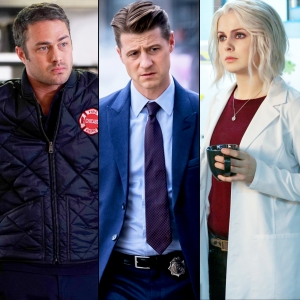 Taylor Kinney, Ben McKenzie and Rose McIver