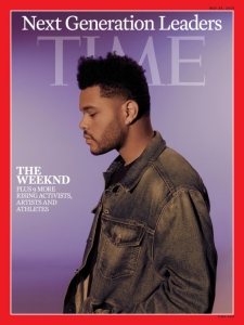 The Weeknd on the cover of 'Time'