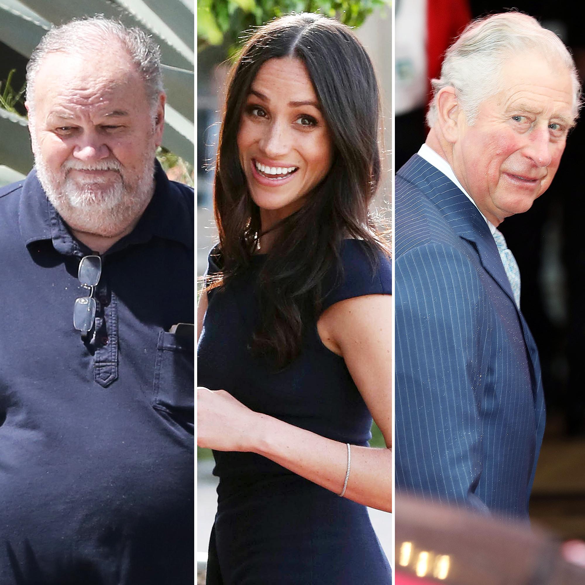 Thomas Markle Honored Prince Charles Meghan Markle Royal Wedding