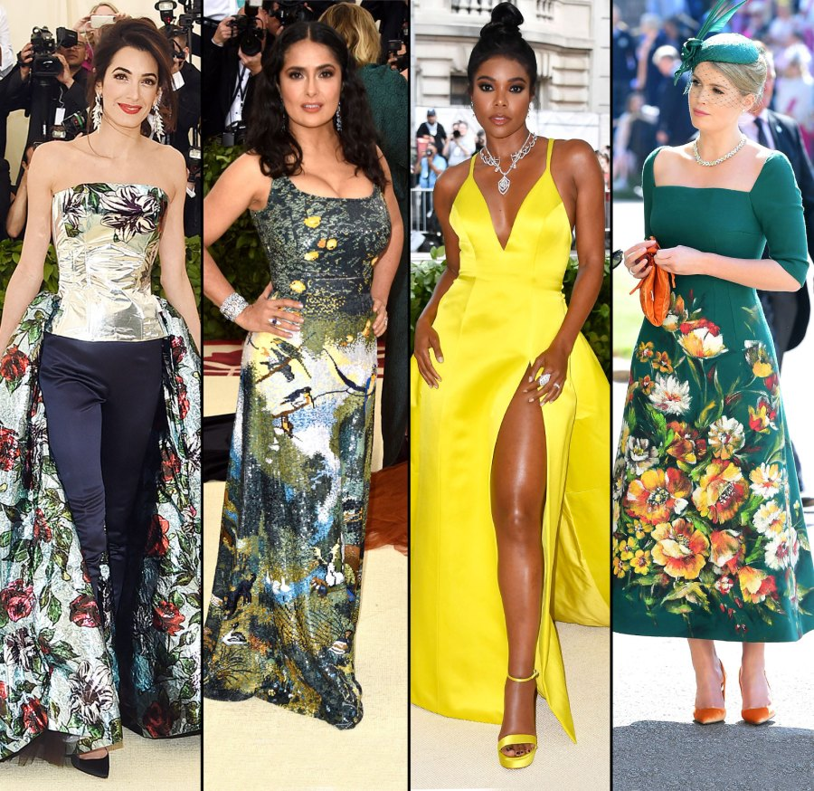 Amal Clooney, Salma Hayek, Gabrielle Union, Kitty Spencer