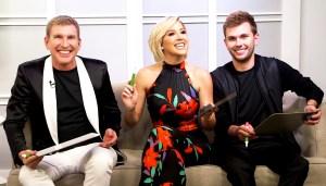 Todd, Savannah and Chase Chrisley