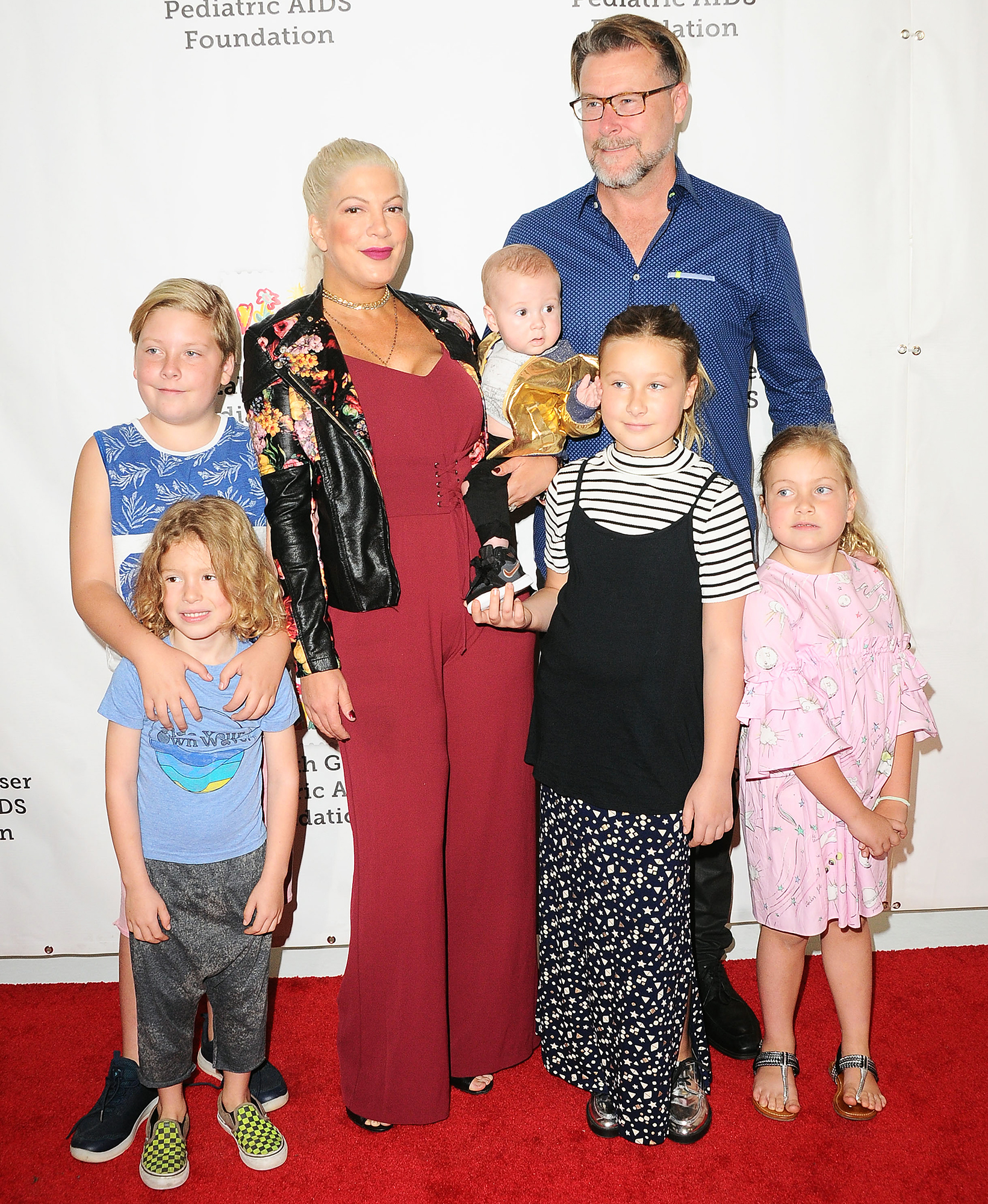 Tori Spelling Dean McDermot kids